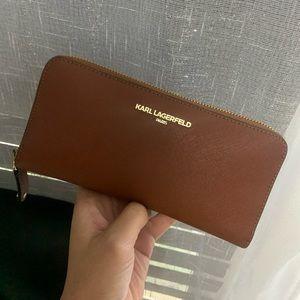 Karl Lagerfeld Brown Wallet